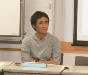 講師の後藤智氏